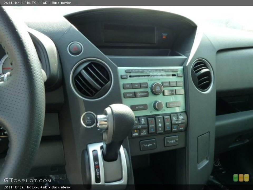 Black Interior Controls for the 2011 Honda Pilot EX-L 4WD #52474046