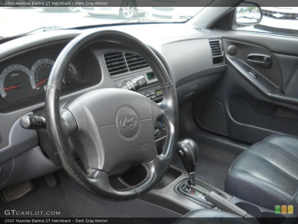 dark gray interior dashboard for the 2002 hyundai elantra gt hatchback 52517529 gtcarlot com gtcarlot com
