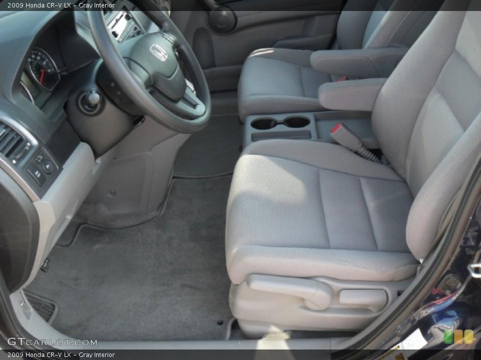 Gray Interior Photo for the 2009 Honda CR-V LX #52543764