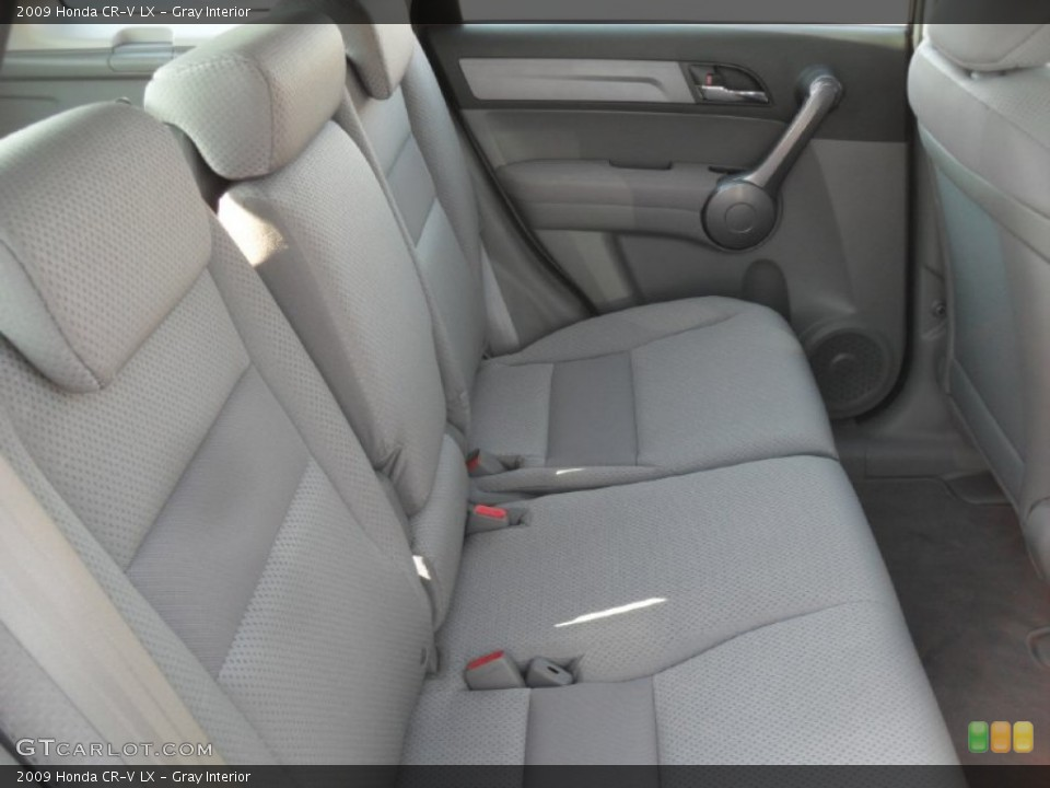 Gray Interior Photo for the 2009 Honda CR-V LX #52543878
