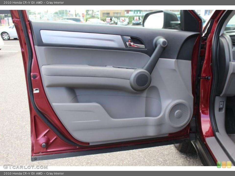 Gray Interior Door Panel for the 2010 Honda CR-V EX AWD #52673308