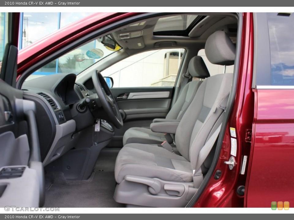 Gray Interior Photo for the 2010 Honda CR-V EX AWD #52673320