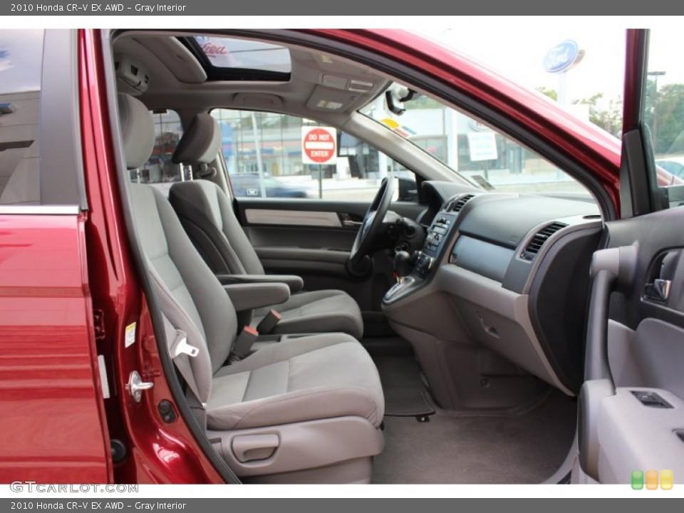 Gray Interior Photo for the 2010 Honda CR-V EX AWD #52673332