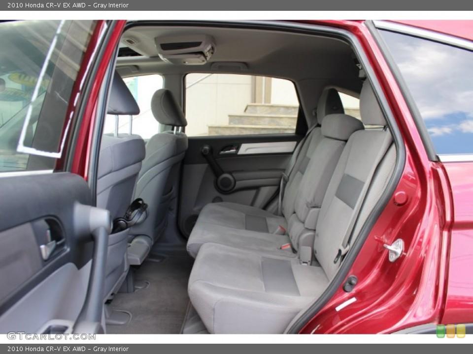 Gray Interior Photo for the 2010 Honda CR-V EX AWD #52673344