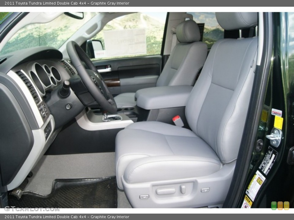 Graphite Gray Interior Photo for the 2011 Toyota Tundra Limited Double Cab 4x4 #52822766