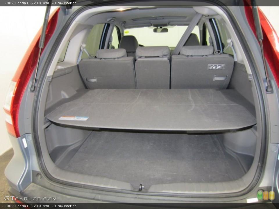 Gray Interior Trunk for the 2009 Honda CR-V EX 4WD #52824326