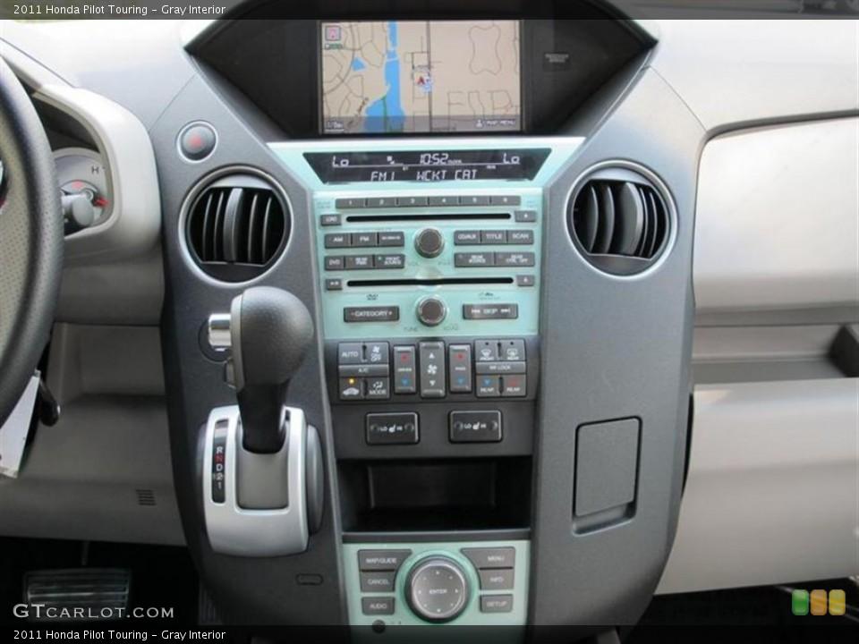 Gray Interior Controls for the 2011 Honda Pilot Touring #52857633