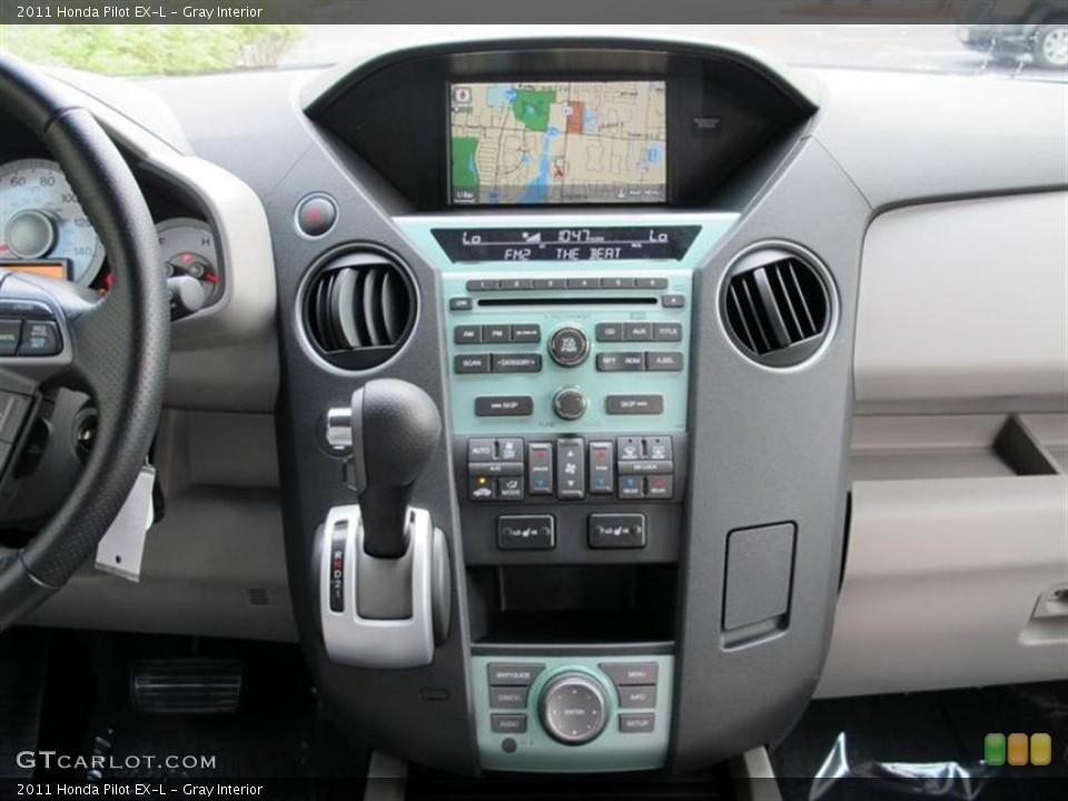 Gray Interior Controls for the 2011 Honda Pilot EX-L #52857774