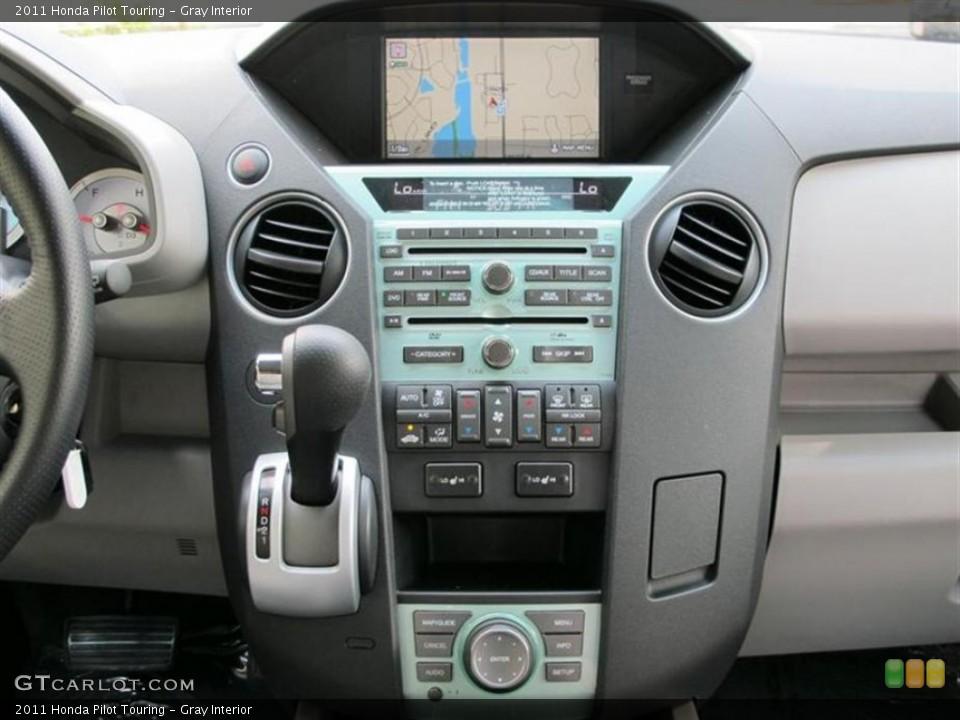 Gray Interior Controls for the 2011 Honda Pilot Touring #52857957