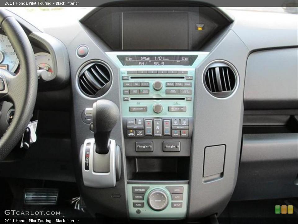 Black Interior Controls for the 2011 Honda Pilot Touring #52858269