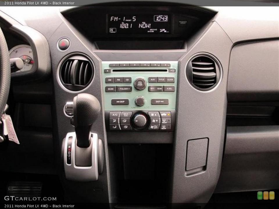 Black Interior Controls for the 2011 Honda Pilot LX 4WD #52859442
