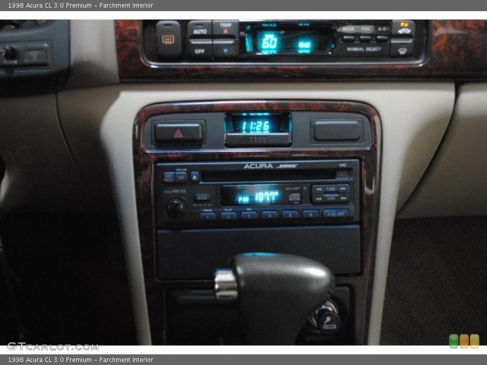 Parchment Interior Controls for the 1998 Acura CL 3.0 Premium #52893414