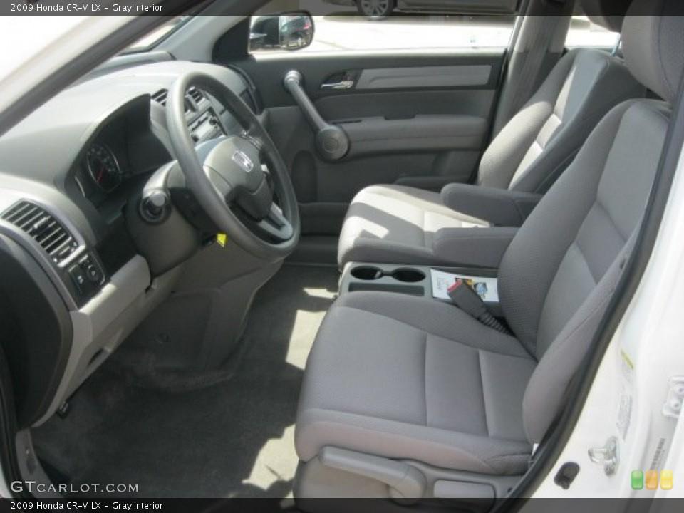 Gray Interior Photo for the 2009 Honda CR-V LX #52959054