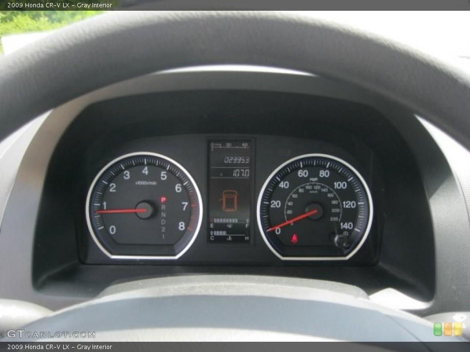Gray Interior Gauges for the 2009 Honda CR-V LX #52959087