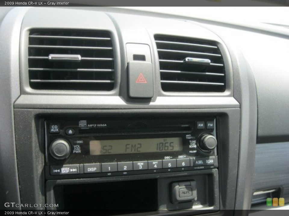 Gray Interior Audio System for the 2009 Honda CR-V LX #52959115