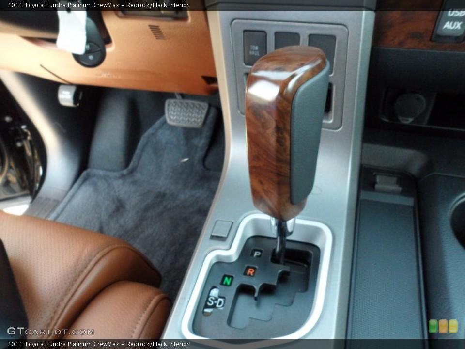 Redrock/Black Interior Transmission for the 2011 Toyota Tundra Platinum CrewMax #52983871