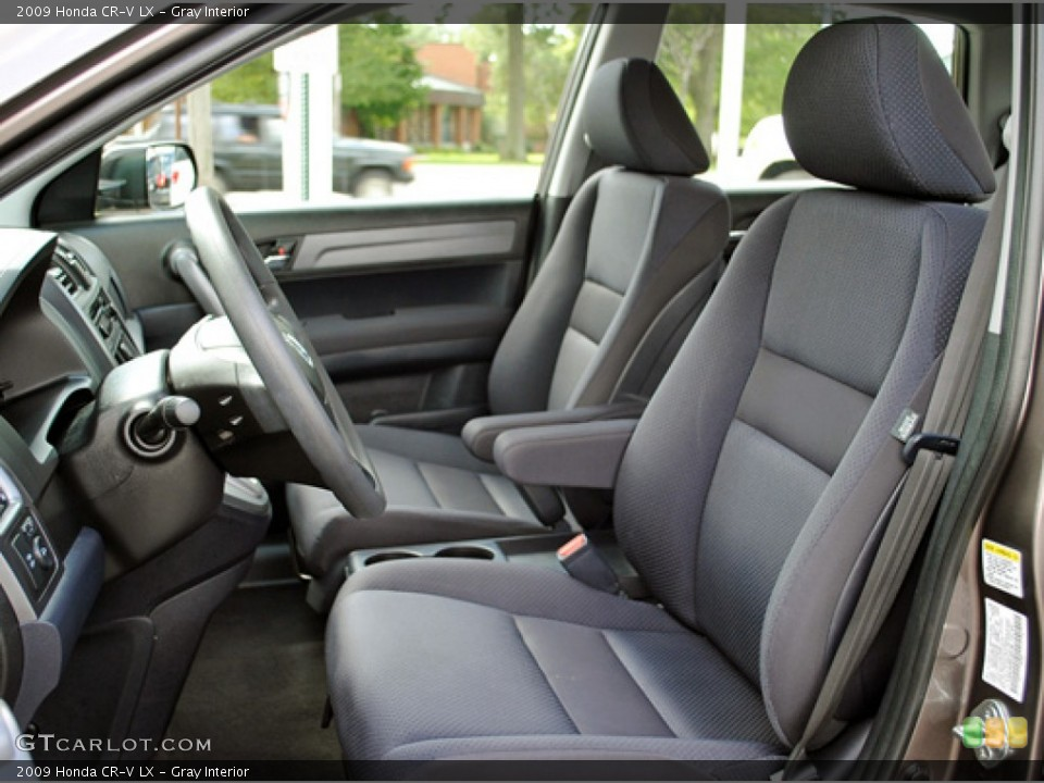 Gray Interior Photo for the 2009 Honda CR-V LX #53036504