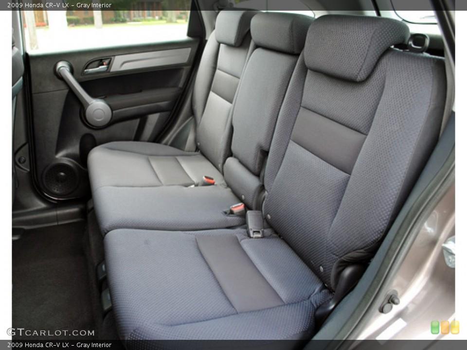Gray Interior Photo for the 2009 Honda CR-V LX #53036513
