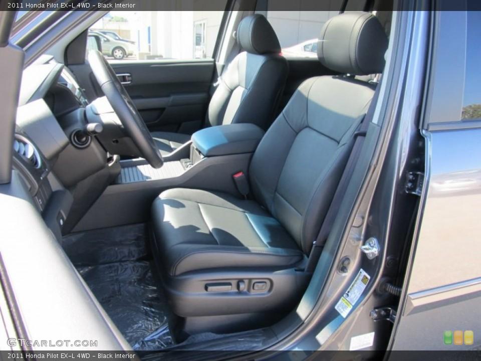 Black Interior Photo for the 2011 Honda Pilot EX-L 4WD #53067232