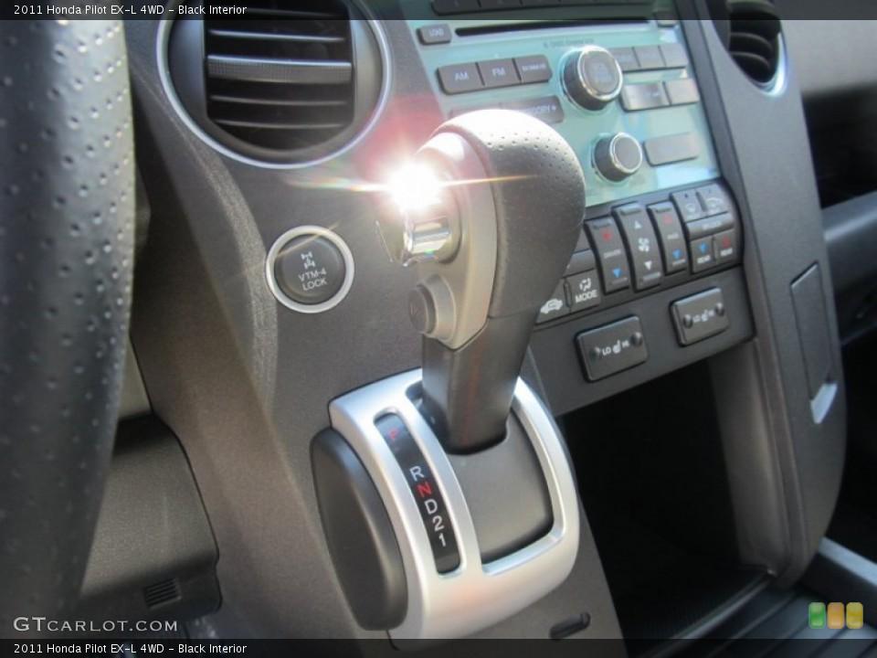 Black Interior Transmission for the 2011 Honda Pilot EX-L 4WD #53067325
