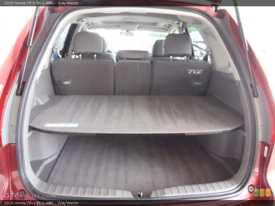 Gray Interior Trunk for the 2010 Honda CR-V EX-L AWD #53124297