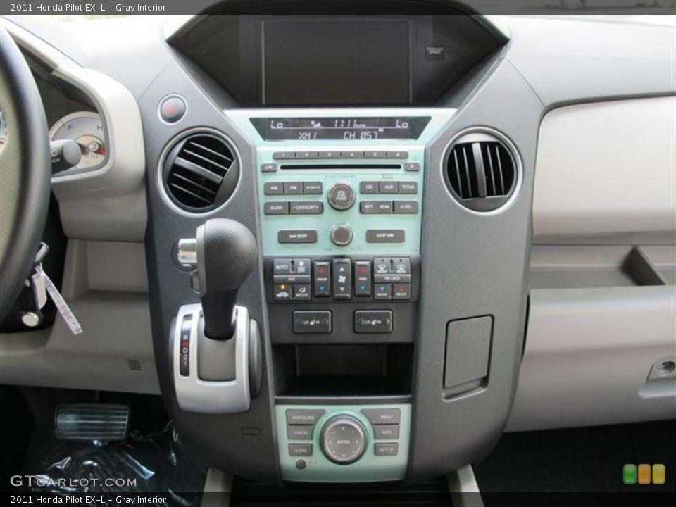 Gray Interior Controls for the 2011 Honda Pilot EX-L #53234778