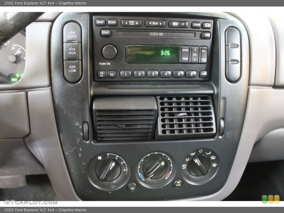 Graphite Interior Audio System for the 2002 Ford Explorer XLT 4x4 #53331381