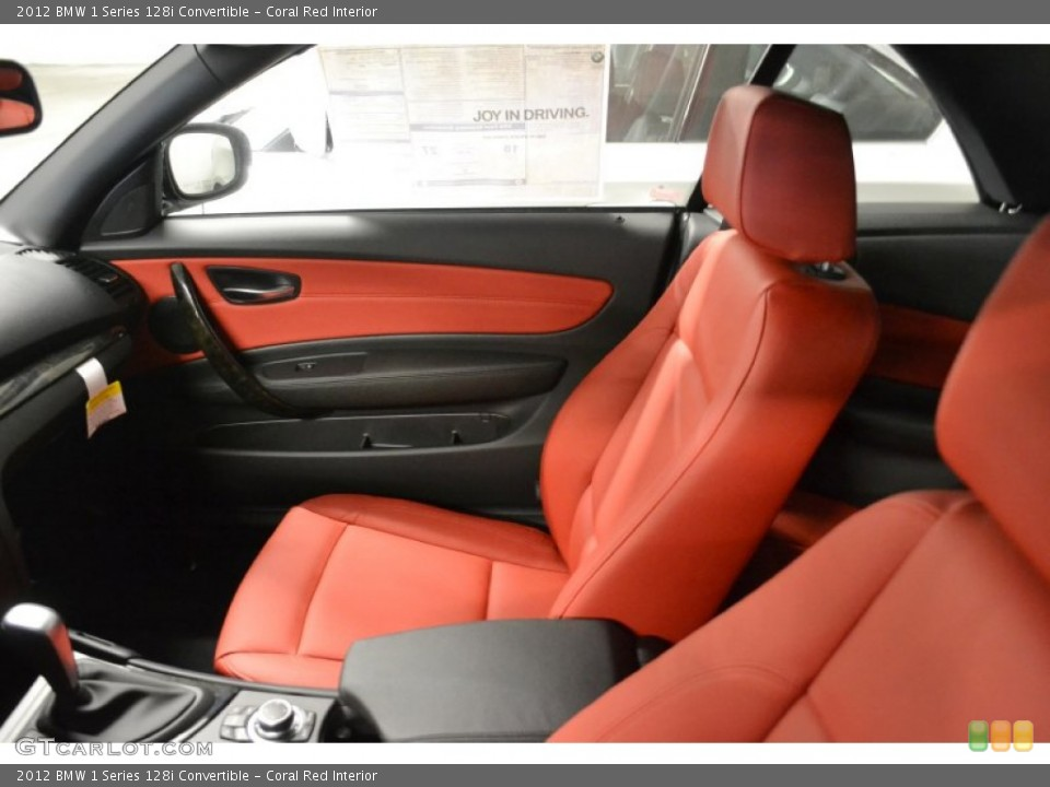 Bmw Red Interior Bmw 1 Series in Coral Red
