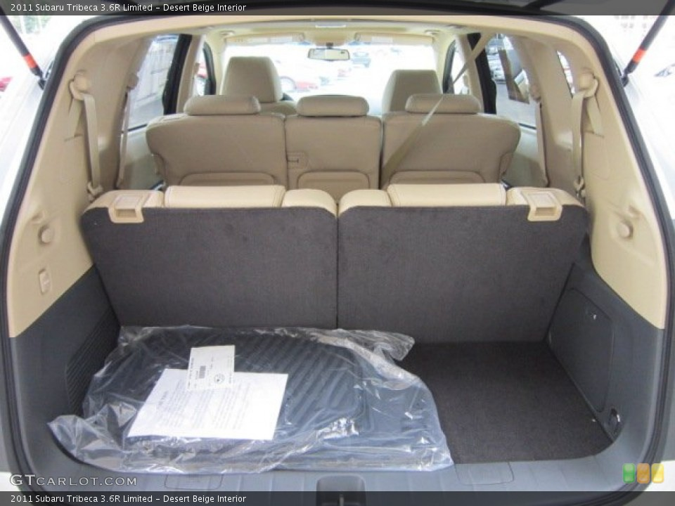 Desert Beige Interior Trunk for the 2011 Subaru Tribeca 3.6R Limited #53371826