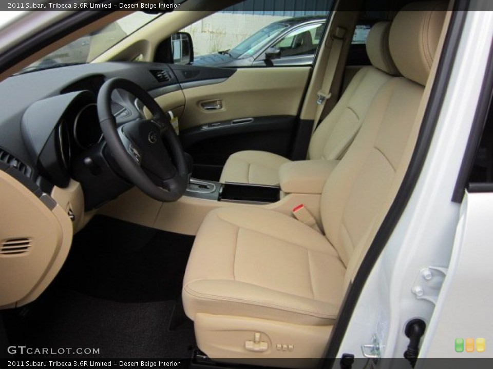 Desert Beige Interior Photo for the 2011 Subaru Tribeca 3.6R Limited #53371871