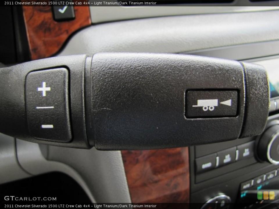 Light Titanium/Dark Titanium Interior Transmission for the 2011 Chevrolet Silverado 1500 LTZ Crew Cab 4x4 #53456279