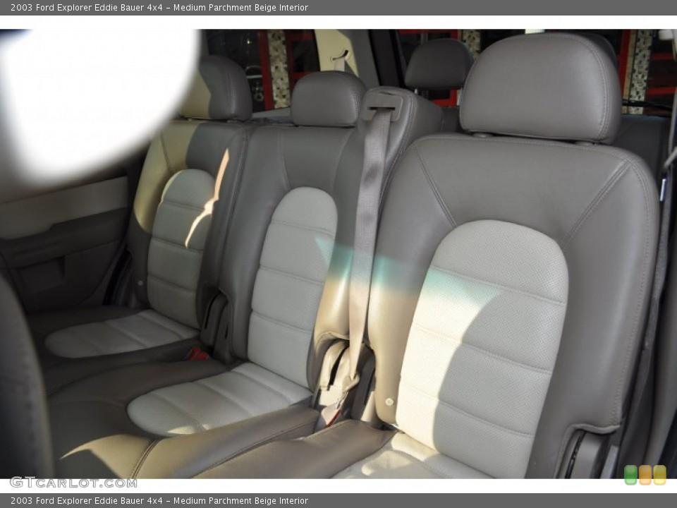 Medium Parchment Beige Interior Photo for the 2003 Ford Explorer Eddie Bauer 4x4 #53500707