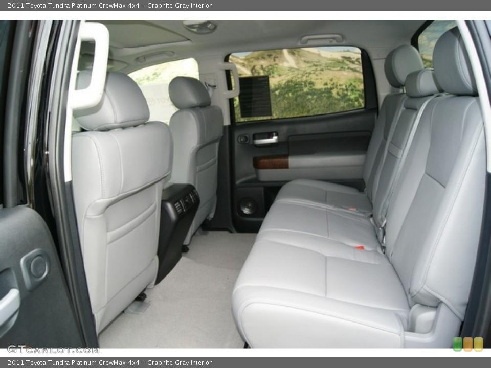 Graphite Gray Interior Photo for the 2011 Toyota Tundra Platinum CrewMax 4x4 #53549955