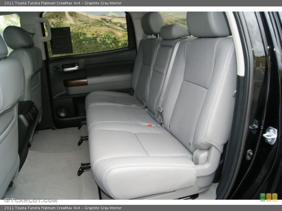 Graphite Gray Interior Photo for the 2011 Toyota Tundra Platinum CrewMax 4x4 #53549994