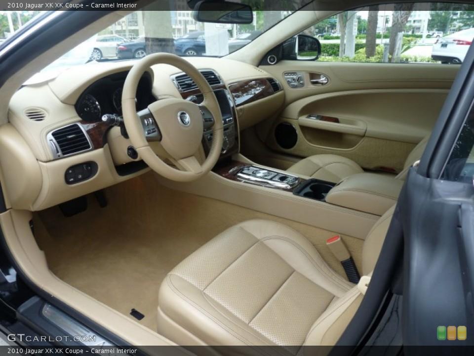 Caramel Interior Photo for the 2010 Jaguar XK XK Coupe #53593348