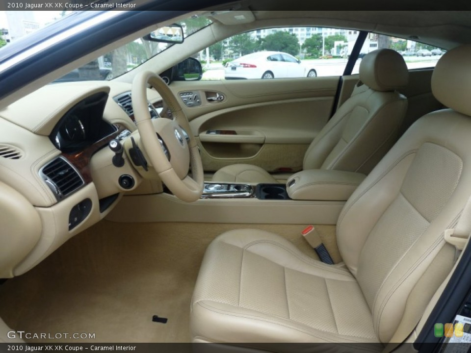 Caramel Interior Photo for the 2010 Jaguar XK XK Coupe #53593354