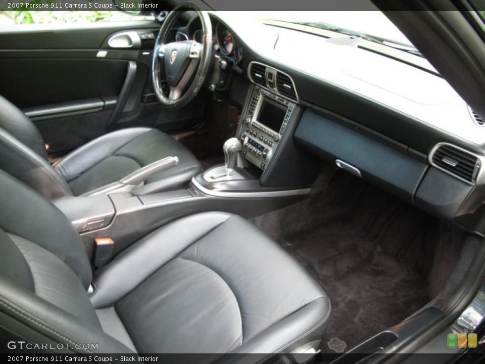 Black Interior Photo for the 2007 Porsche 911 Carrera S Coupe #53633395