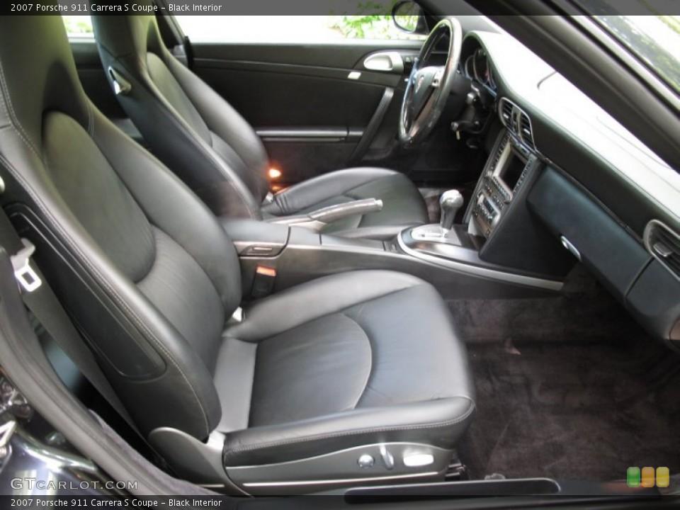 Black Interior Photo for the 2007 Porsche 911 Carrera S Coupe #53633412