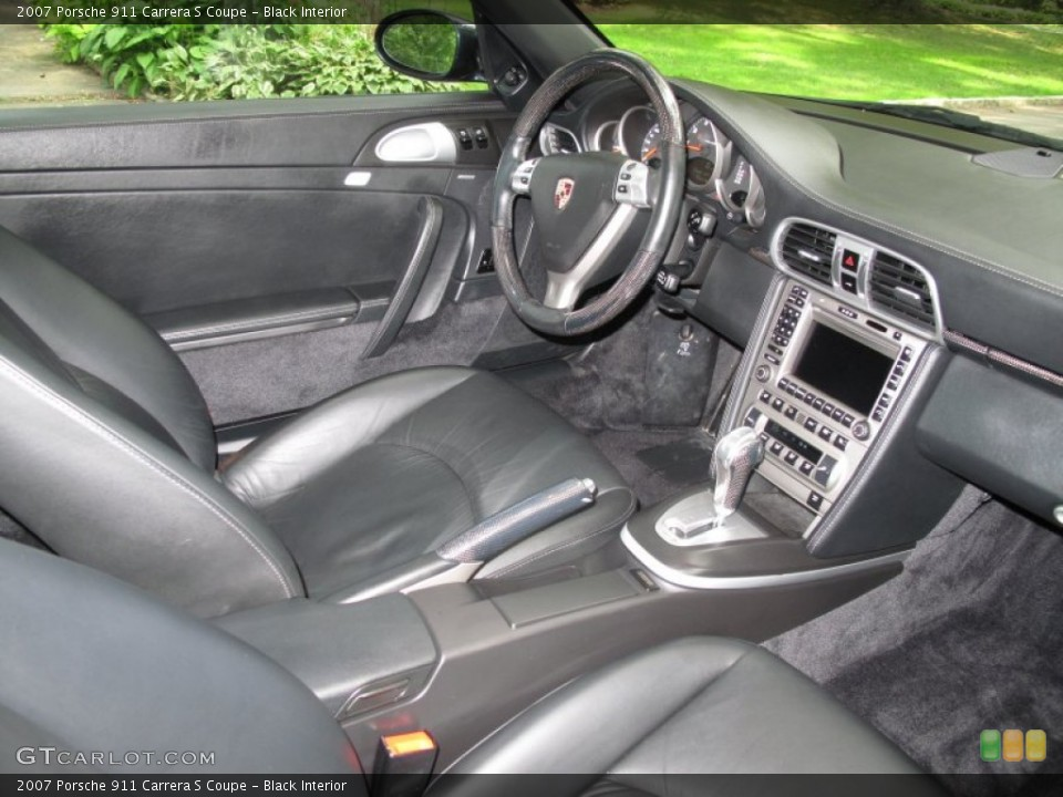 Black Interior Photo for the 2007 Porsche 911 Carrera S Coupe #53633429