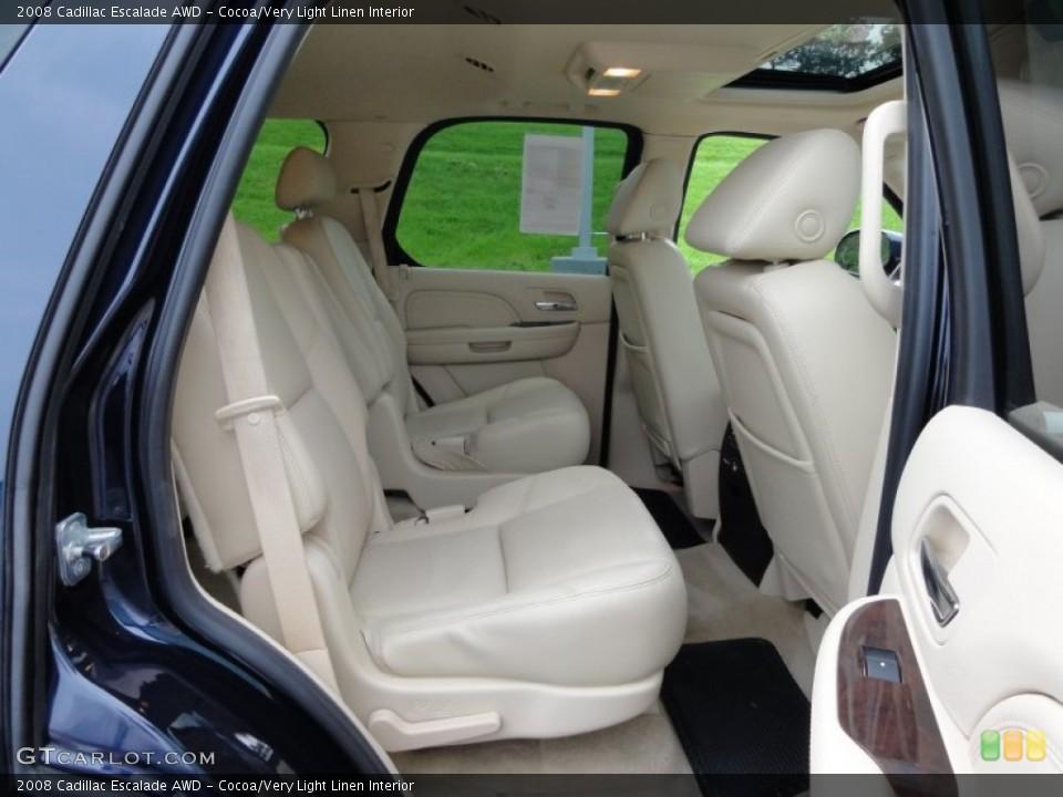 Cocoa/Very Light Linen Interior Photo for the 2008 Cadillac Escalade AWD #53648535