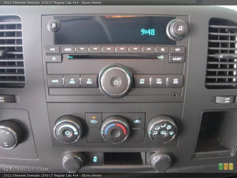 Ebony Interior Audio System for the 2011 Chevrolet Silverado 1500 LT Regular Cab 4x4 #53676144