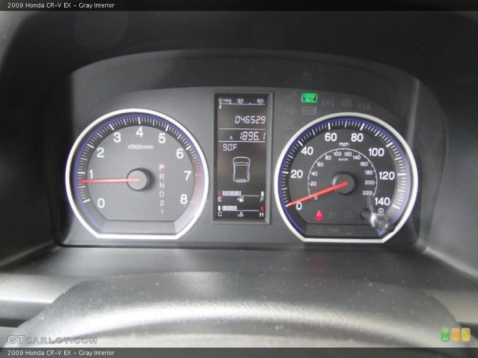 Gray Interior Gauges for the 2009 Honda CR-V EX #53755791