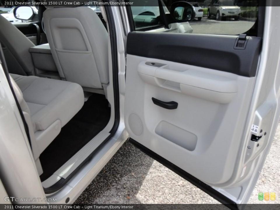 Light Titanium/Ebony Interior Photo for the 2011 Chevrolet Silverado 1500 LT Crew Cab #53762498