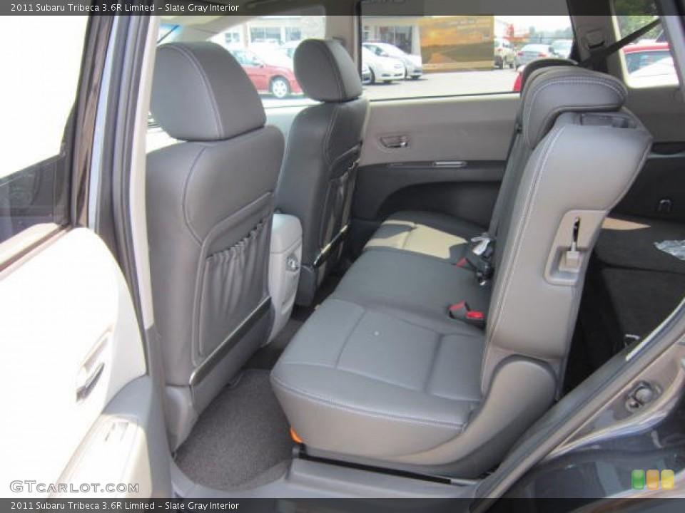Slate Gray Interior Photo for the 2011 Subaru Tribeca 3.6R Limited #53770724