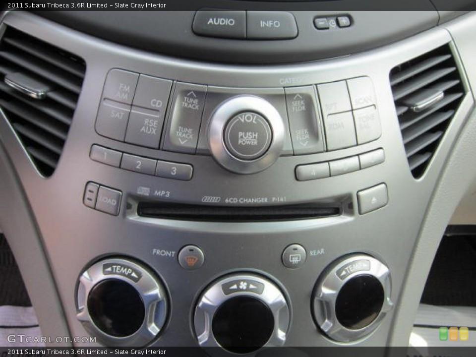 Slate Gray Interior Controls for the 2011 Subaru Tribeca 3.6R Limited #53770766