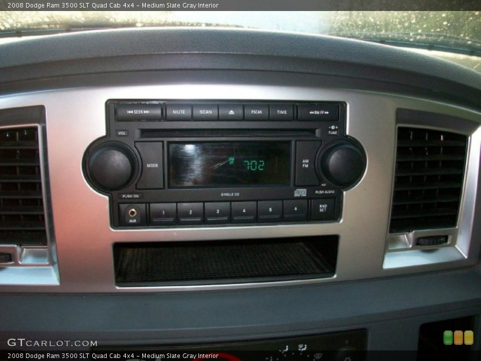 Medium Slate Gray Interior Audio System for the 2008 Dodge Ram 3500 SLT Quad Cab 4x4 #53771711