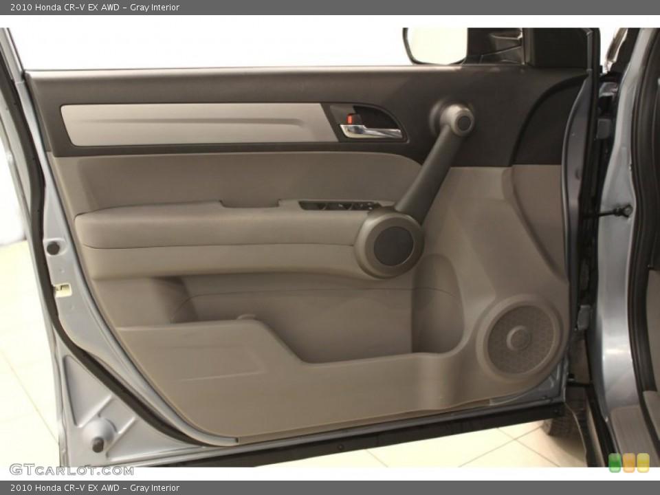 Gray Interior Door Panel for the 2010 Honda CR-V EX AWD #53793896