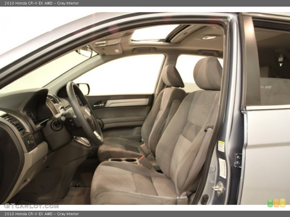 Gray Interior Photo for the 2010 Honda CR-V EX AWD #53793904