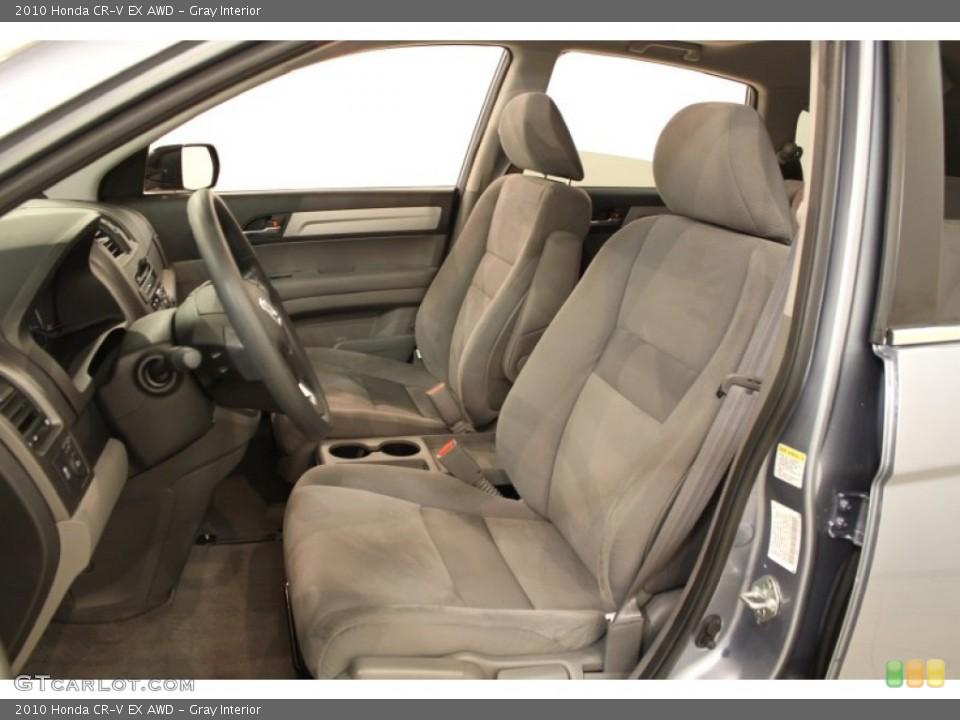 Gray Interior Photo for the 2010 Honda CR-V EX AWD #53793910
