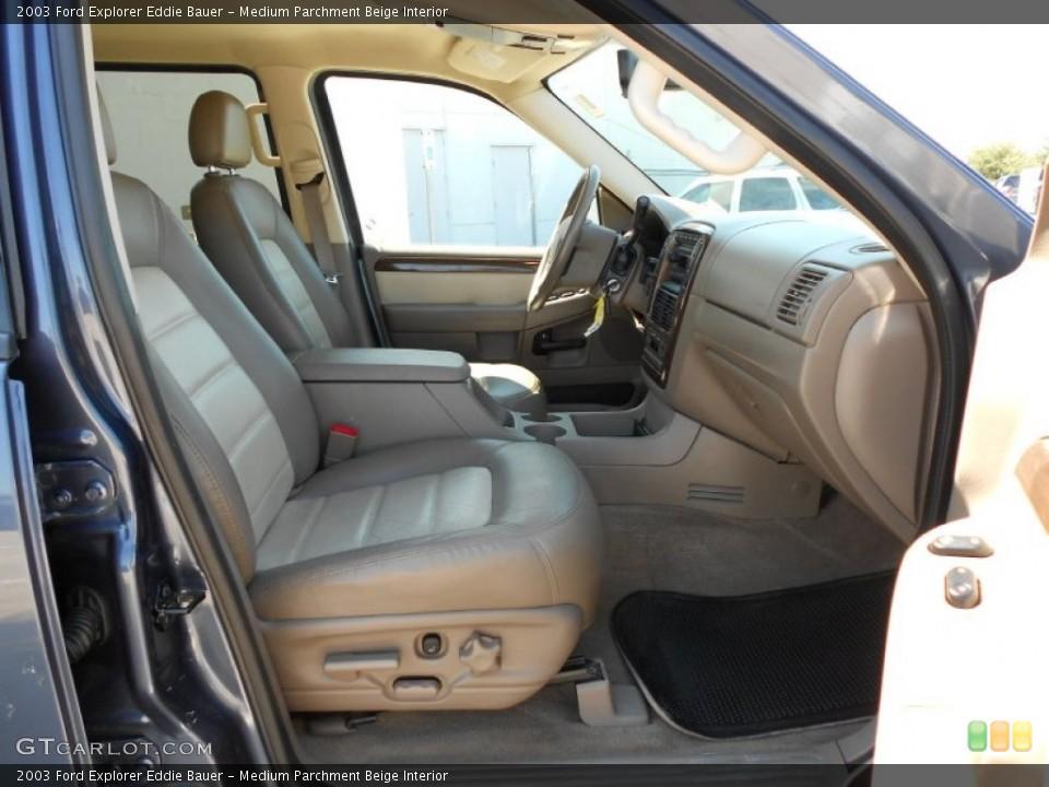 Medium Parchment Beige Interior Photo for the 2003 Ford Explorer Eddie Bauer #53817755
